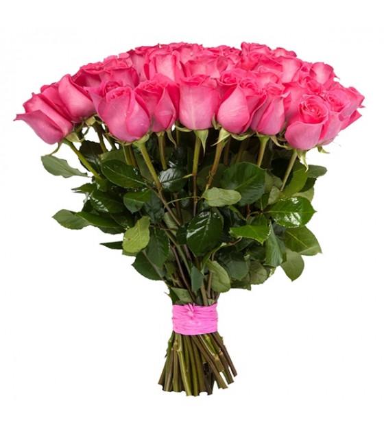 25 վարդագույն վարդերի փունջ